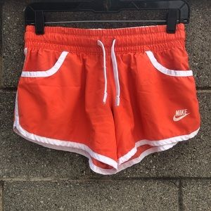 Nike Running Shorts Orange Size S
